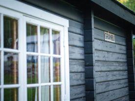 Mellomstor hytte for 4 personer